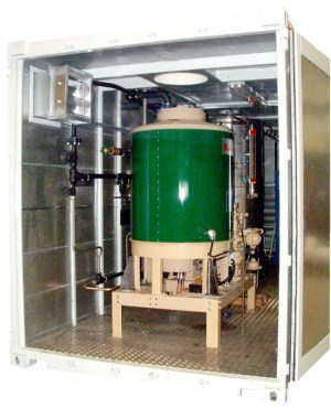 Containerised Boiler