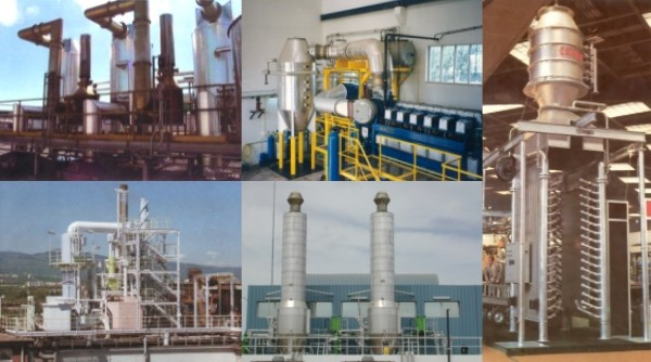 Manufacturing and marine gas boiler applications