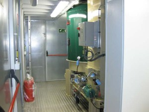 Weatherproof Plant Rooms